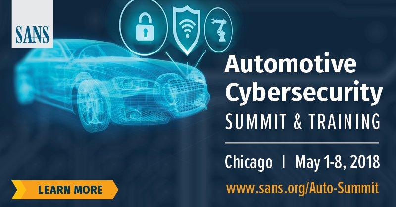 SANS Automotive Cybersecurity Summit