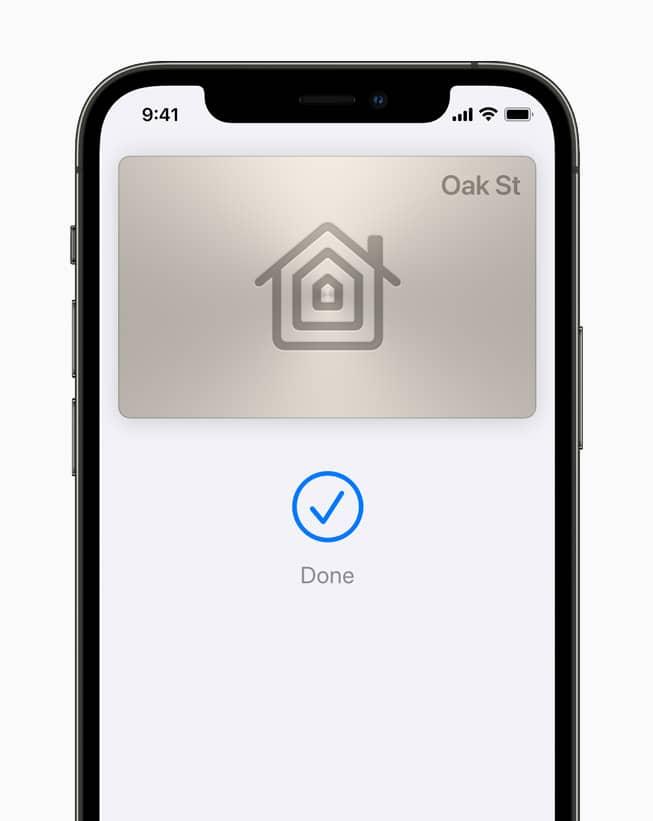 HomeKey en iOS 15