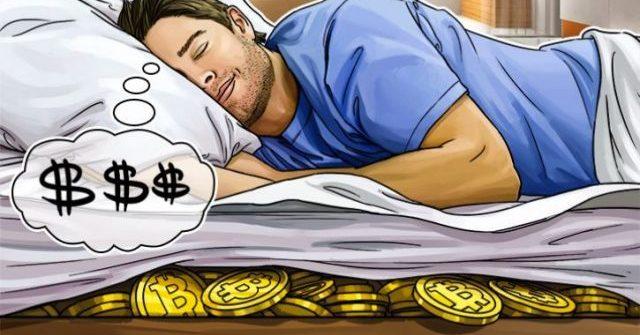 Bitcoins bajo el colchón