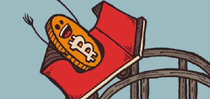 El precio del Bitcoin es una montaña rusa