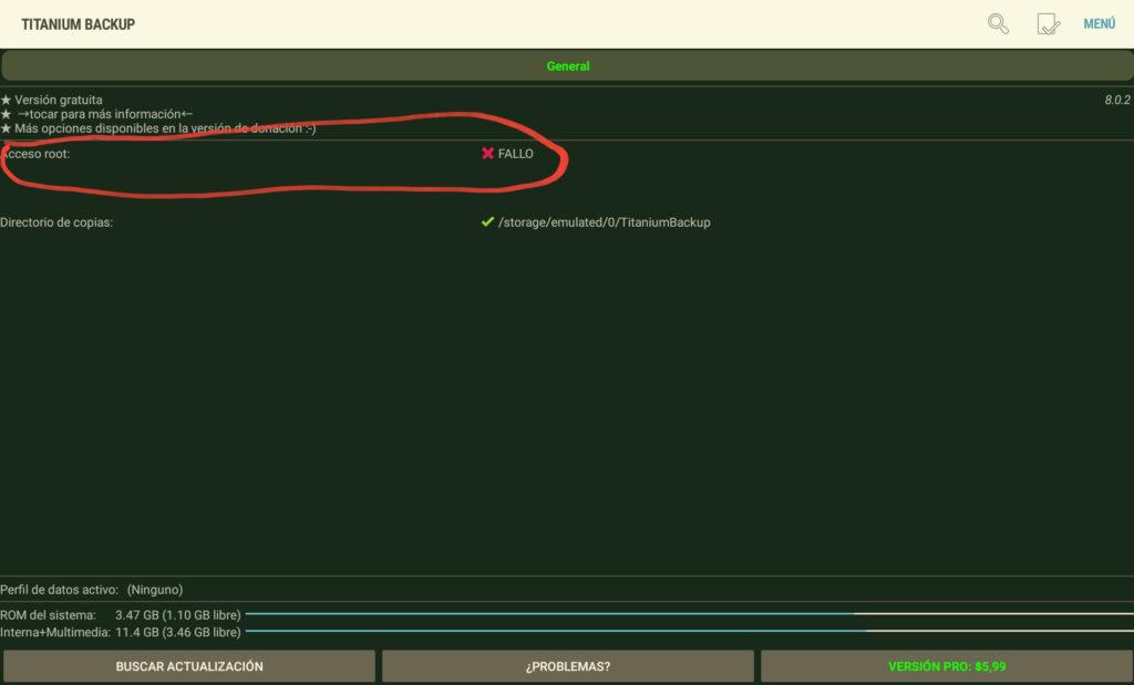 Cómo hacer copias de Seguridad de los datos del teléfono móvil en Android con Titanium Backup