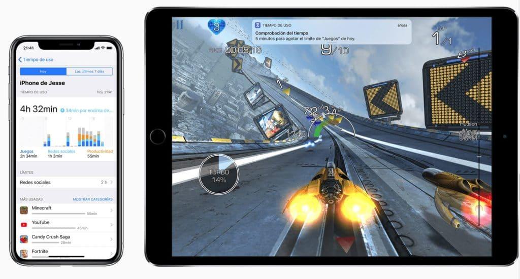 Ampliar Tiempo de Uso en iOS