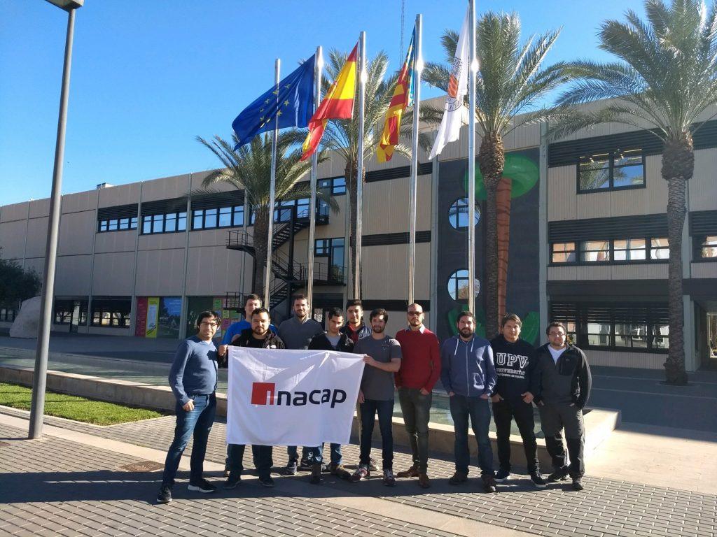 Curso de CiberSeguridad para la Universidad INACAP de Chile 2018 en la UPV