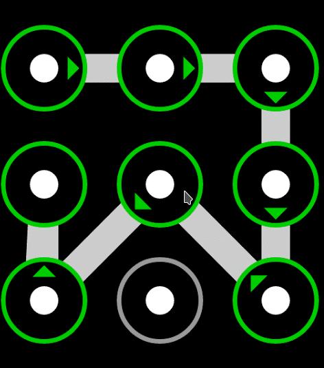 Patrón de desbloqueo