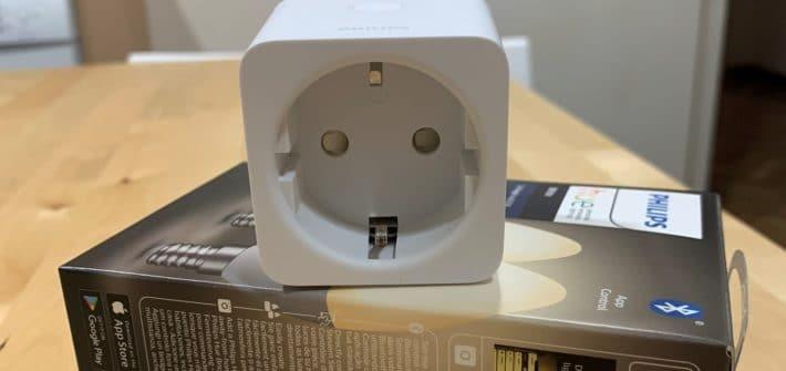 Enchufe Philips Hue compatible con Apple Homekit