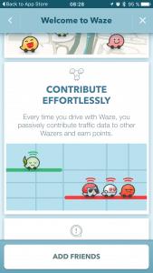 Envío de ubicacion no consentida en telefonos android - Waze