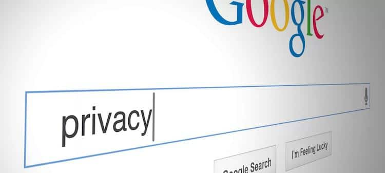 Privacidad en Google
