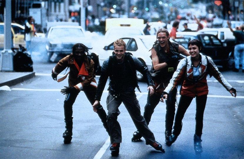 Fotograma de la película Hackers Piratas Informáticos