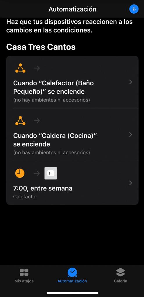 Automatización de Casa en Atajos con iOS13