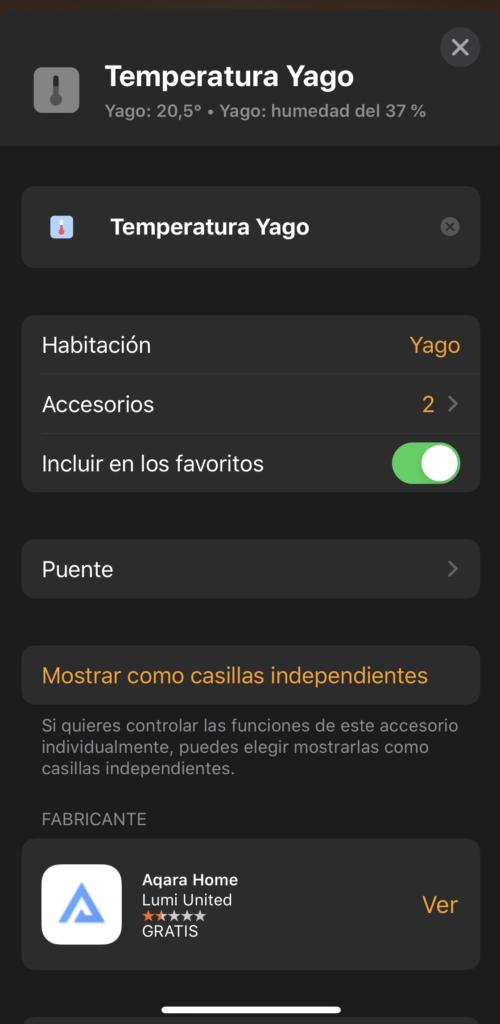 Separar elementos agrupados en HomeKit con iOS13