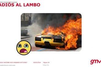 Adios al Lambo