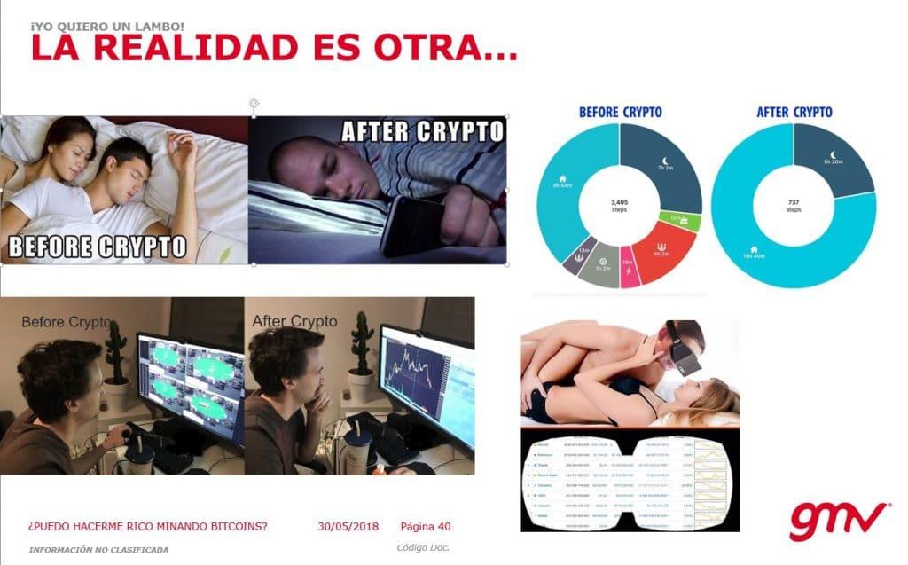 La realidad del crypto-trader