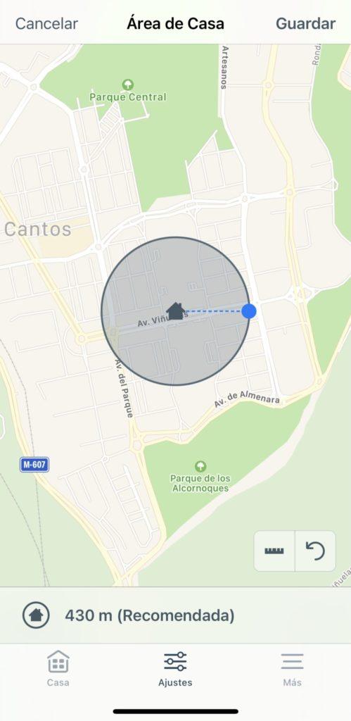Geolocalización en Tado v3+