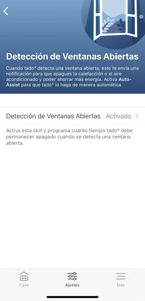 Detección de Ventana abierta en Tado v3+