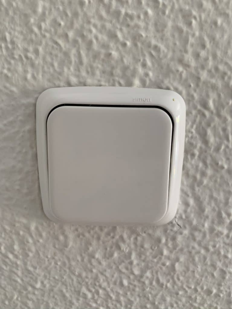 Interruptor convencional Simon