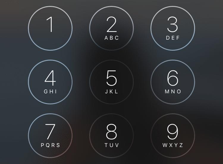 Teléfono bloqueado