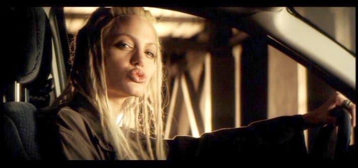 Angelina Jolie en la película 60 Segundos