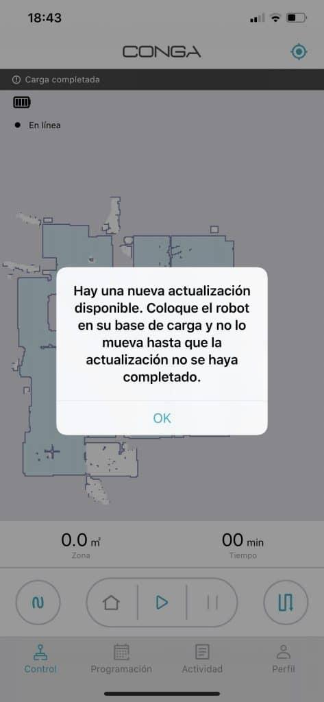 Actualización firmware Cecotec