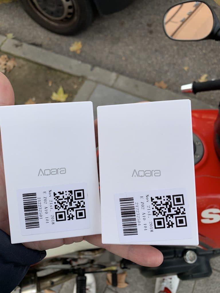 Sensores o botones de Aqara