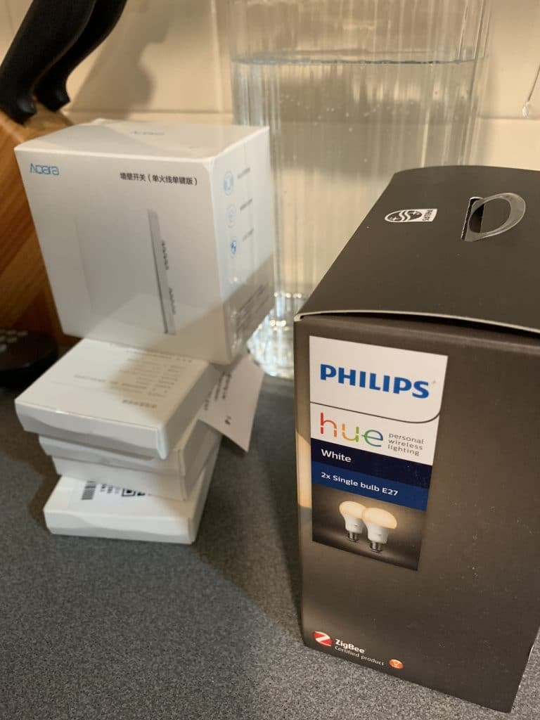 Dispositivos de Aqara y Philips Hue compatibles con HomeKit