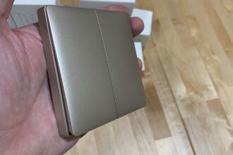 Nuevos interruptores Gold de Aqara compatibles con Apple HomeKit