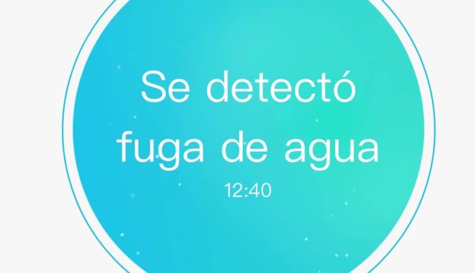 Sensor de fugas de agua compatible con Apple Homekit