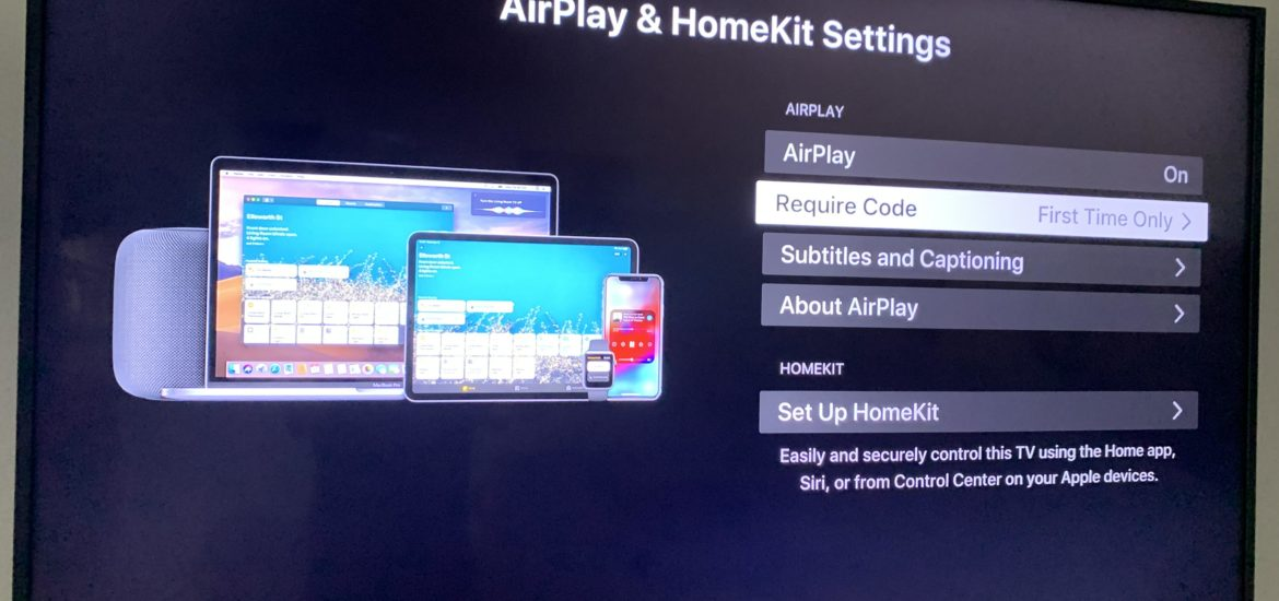 Televisión Compatible con Apple HomeKit