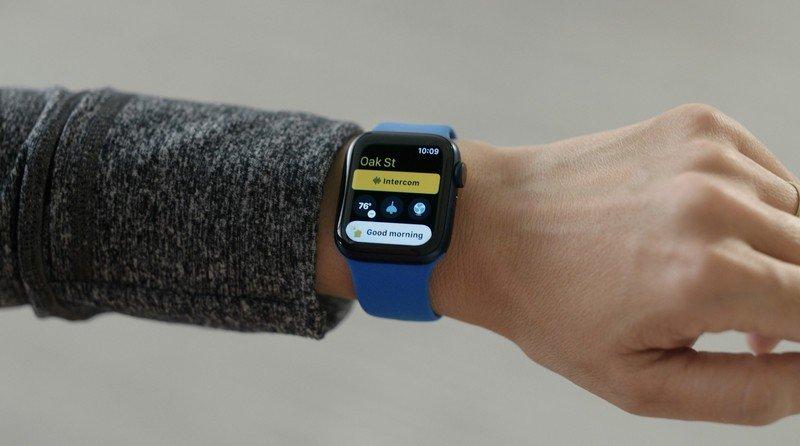 App Casa en el Apple Watch con iOS 15