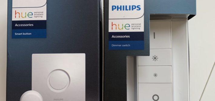 Smart buttons de Philips Hue compatibles con HomeKit de Apple