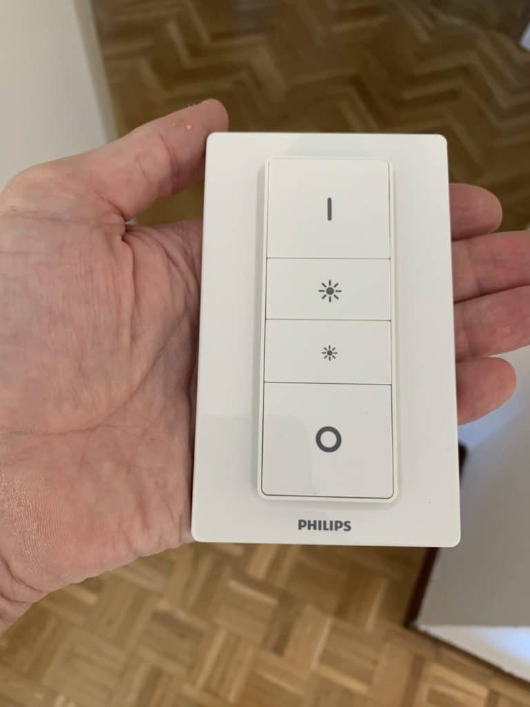 Dimmer Switch de Philips Hue con embellecedor